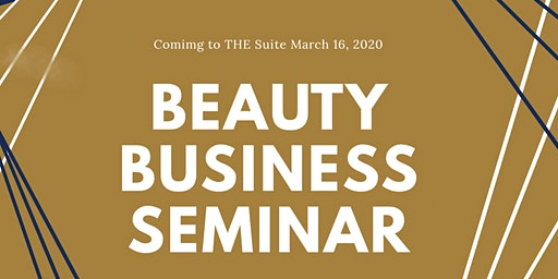 Beauty Business Seminar