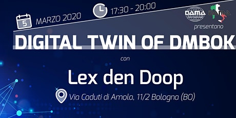 Digital Twin of DMBOK - DAMA Cheers tickets