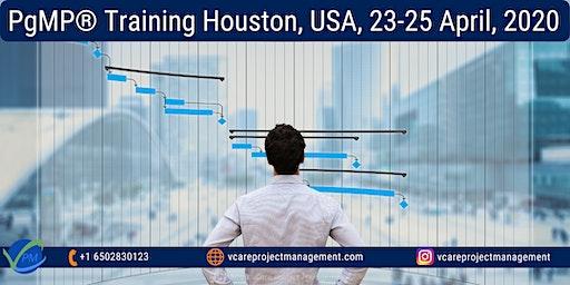 PgMP Certificate | Program Management Training | Houston | April 2020