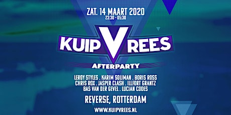 KuipVrees afterparty tickets