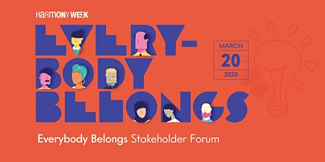 Everyone Belongs: Stakeholder Forum tickets