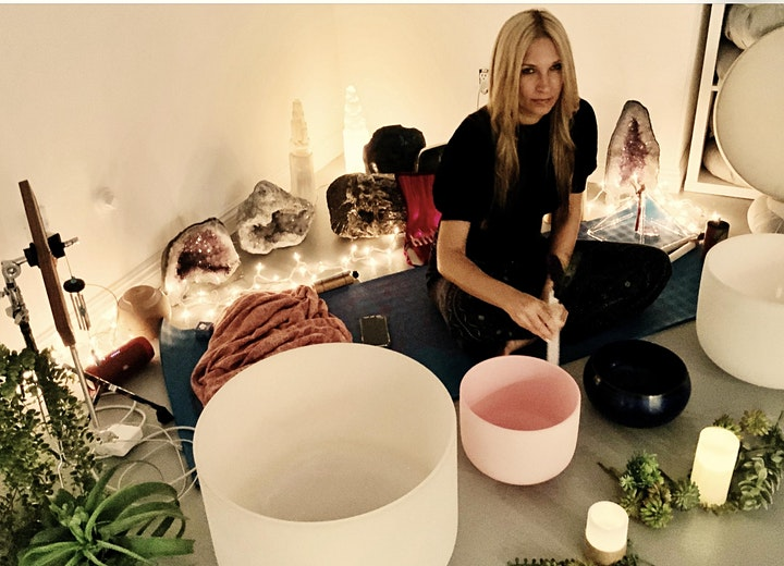 Plug Into Bliss - Sound Bath and Yoga Nidra with Angelique Bianca image