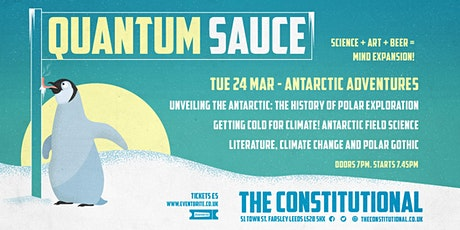 Quantum Sauce - Antarctic Adventures tickets