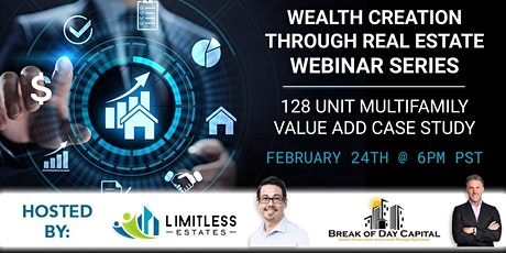 Wealth Creation Through Real Estate Webinar Series tickets