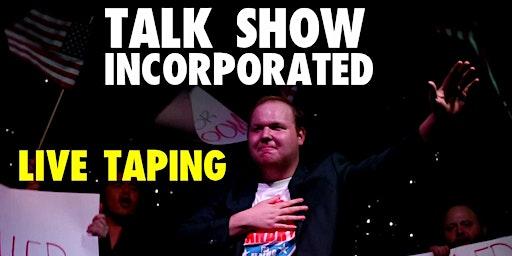 Talk Show Inc Pilot Filming Night #1