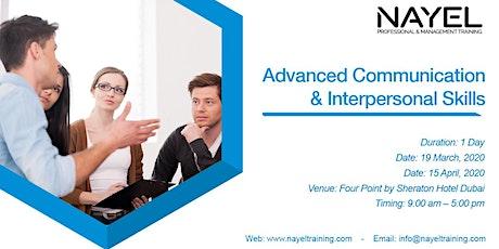 Advanced Communication & Interpersonal Skills billets