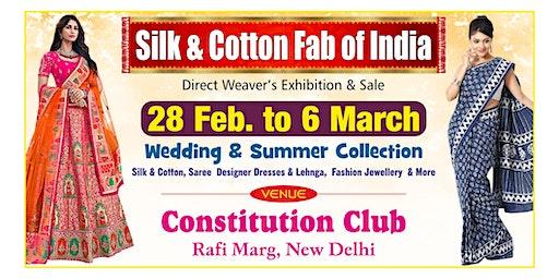 Silk & Cotton Fab of India