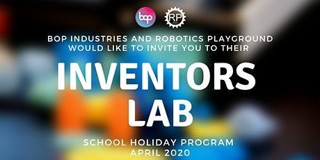 Inventors Lab School Holiday Program - High School tickets