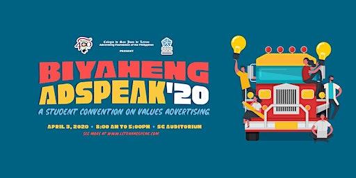 Biyaheng AdSpeak 2020