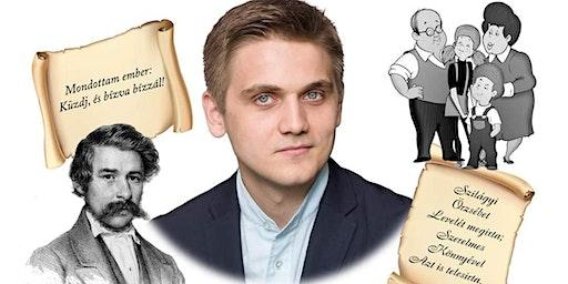 Humor az irodalomban - Marosán Csaba előadása