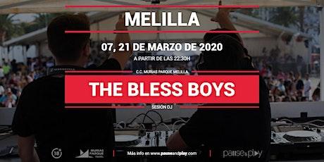 Show de DJ TheBlessBoys en Pause&Play Melilla entradas