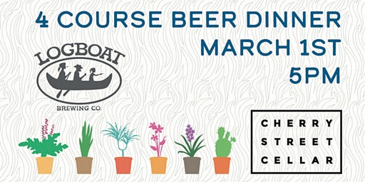 Cherry Street Cellar & Logboat Brewery Beer Dinner