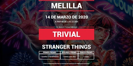 Trivial especial Stranger Things en Pause&Play Melilla entradas
