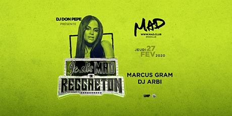 Je.Dis MAD in Reggaeton billets