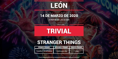 Trivial especial Stranger Things en Pause&Play León Plaza tickets