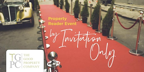 Invite Only: Property Reader Event on Monday 20th April tickets
