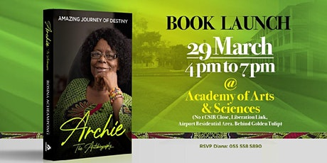 ARCHIE BOOK LAUNCH tickets