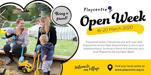 Kelburn Playcentre Open Week
