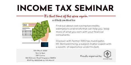 Income Tax Seminar tickets
