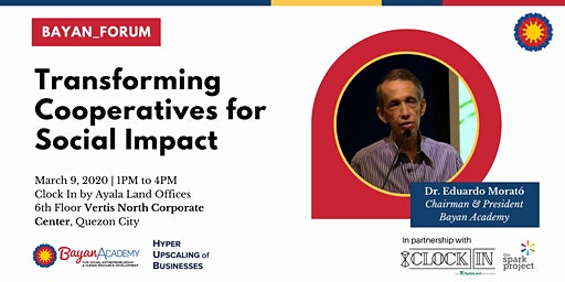 BAYAN_FORUM: Transforming Cooperatives for Social Impact