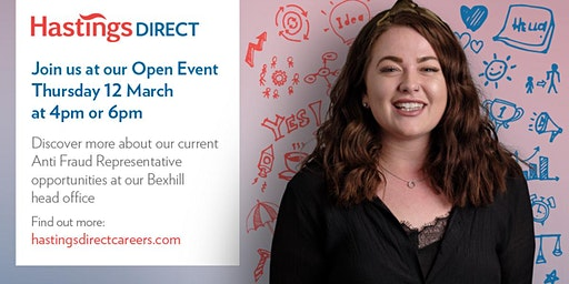 Bexhill Recruitment Open Event