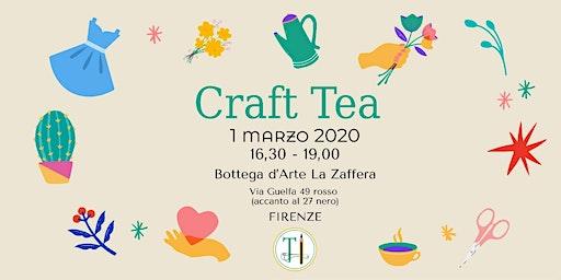 Craft Tea! Chiacchere, tea e biscotti con Toscana Handmade