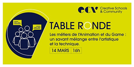 Table Ronde de l'ECV billets