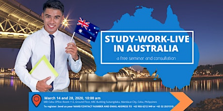 STUDY, WORK, AND LIVE IN AUSTRALIA: Free Info-Session tickets