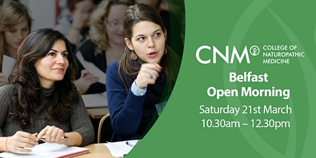 CNM Belfast - Free Open Morning tickets