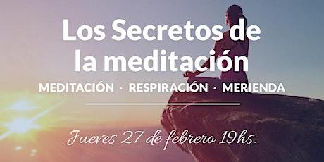 Los secretos de la meditación entradas