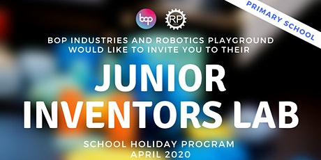 Junior Inventors School Holiday Program - Primary School tickets