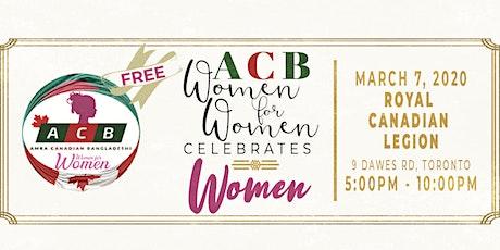 ACB Women for Women Celebrates WOMEN tickets
