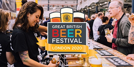 Saturday 8th - Great British Beer Festival 2020 tickets