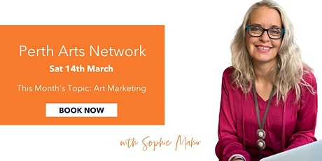 How To Effectively Market Your Art In 2020 with Sophie Mahir tickets