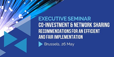 Co-Investment & Network Sharing - Recommendations for an Efficient and Fair Implementation tickets