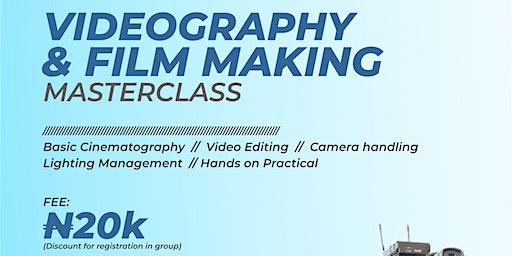 Videography/Filmmaking MasterClass