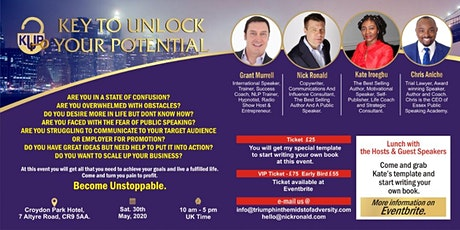 Key to unlock your potential tickets