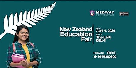 NEW ZEALAND EDUCATION FAIR IN NEW DELHI, 4TH APRIL tickets