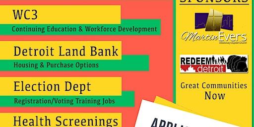 Community Job, Health & Resource Fair