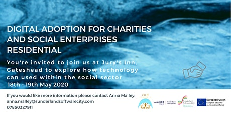 Digital Adoption for Charities & Social Enterprises Residential tickets