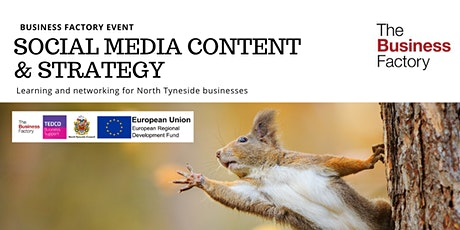 Social Media Content & Strategy | Thursday 19th March at 1.30pm tickets