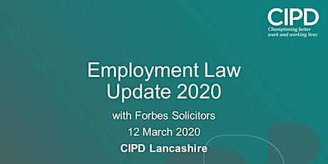 Employment Law update 2020 tickets