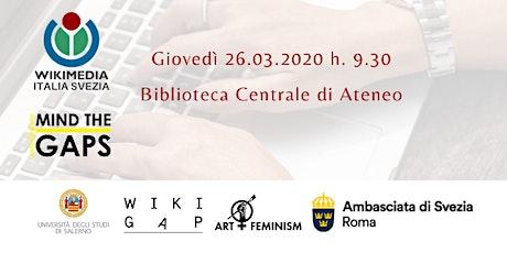WikiGap 2020 Salerno  biglietti