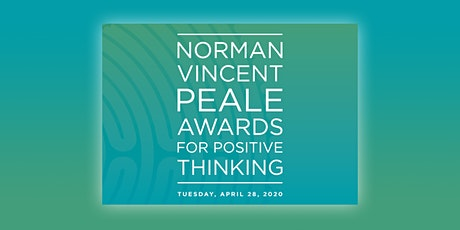 The 2020 Norman Vincent Peale Awards for Positive Thinking tickets