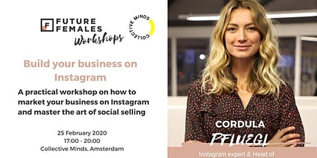 Build your business on Instagram | Future Females Amsterdam tickets