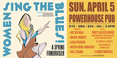 """Women Sing the Blues"" Concert Fundraiser- The Sacramento Blues Society"