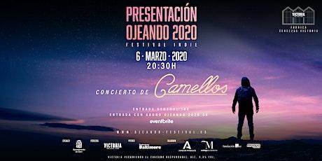 Fiesta presentación Ojeando 2020 con Camellos entradas