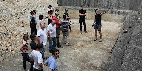 Balade patrimoniale et géologique sur l'ENS des anciennes carrières de Villebois billets