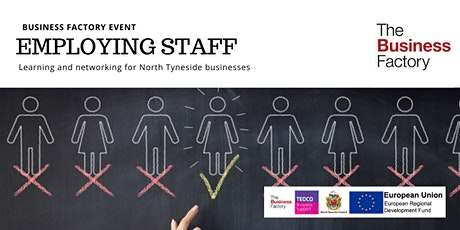 An Introduction to Employing Staff | Monday 23rd March at 9.30am tickets