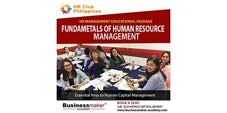 HR Fundamentals tickets